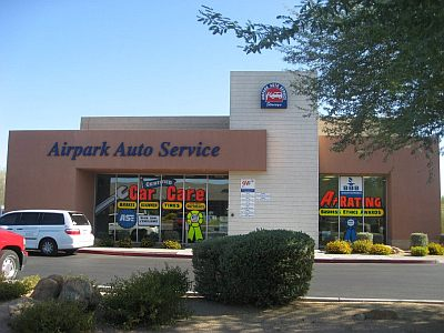 Airpark Auto Service Car Repair Scottsdale AZ Arizona